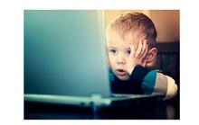 Cẩn trọng khi để trẻ lên Internet