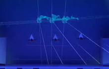 Màn múa hiện đại bằng máy bay điều khiển