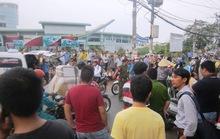 Nam thanh niên gục chết trên xe máy