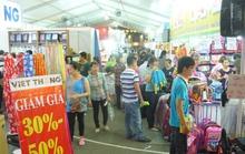 Hội chợ HVNCLC vẫn thu hút khách