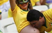 Fan bóng đá khoe độ cuồng ở World Cup 2014