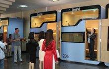 Mở lại dịch vụ hộp ngủ tại sân bay Nội Bài