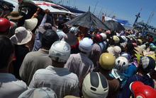 Đưa thi thể ngư dân bị tử nạn về Lý Sơn