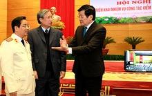 Chủ tịch nước Trương Tấn Sang: Xử lý nghiêm cán bộ thoái hóa