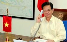 Thủ tướng Nguyễn Tấn Dũng và Thủ tướng Malaysia điện đàm về chiếc MH370