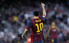 Messi lập kỷ lục, Barcelona đại thắng Osasuna