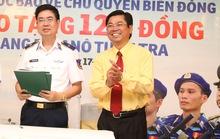 Vinasun ủng hộ 7 tỉ đồng đóng ca nô cao tốc cho Cảnh Sát Biển