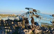 Trực thăng quân đội Syria rơi vào tay phiến quân