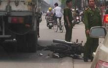 Đi xe máy leo con lươn ngã ra đường, bị xe tải cán chết