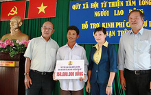 Trao 200 triệu đồng cho ngư dân huyện Cần Giờ
