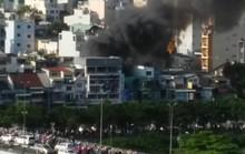 TP HCM: Cháy nhiều nhà ở quận 1, kẹt xe dữ dội