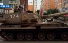 Trung Quốc điều xe tăng, Hàn Quốc làm căng