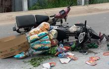 """Xe máy """"cà tàng"""" chạy ẩu gây tai nạn, 2 người nguy kịch"""