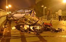Khởi tố vụ taxi đâm liên hoàn ở Hà Nội