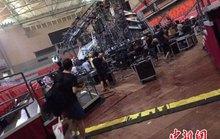 Sập sân khấu của ca sĩ Thái Y Lâm, 14 người  thương vong