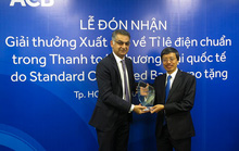 ACB nhận giải thưởng thanh toán quốc tế