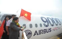 Airbus bàn giao chiếc máy bay thứ 9.000 của hãng cho Vietjet