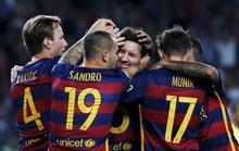 Messi sút hỏng phạt đền, Barcelona vẫn thắng 4 sao