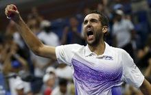 """Serena thắng """"cuộc chiến nhà Williams"""", Cilic chật vật vào bán kết"""