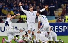 Everton đại bại ở Kiev, bóng đá Anh trắng tay