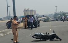 2 vụ tai nạn cùng thời điểm làm 2 người trọng thương