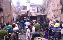 Cháy nhà giữ trẻ tư nhân, 3 nhà bị thiêu rụi