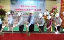 Vietcombank tài trợ 20 tỉ đồng xây trường mầm non