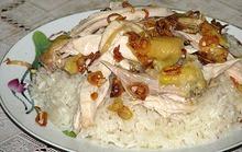 Xôi gà của mẹ tôi có mùi vị của hạnh phúc