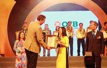 """OCB nhận giải thưởng """"Thương hiệu xuất sắc"""""""
