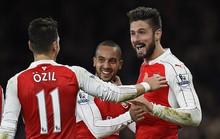 Walcott lập siêu phẩm, Arsenal quật ngã Man City