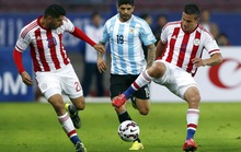 Messi ghi bàn, Argentina vẫn khóc hận với Paraguay