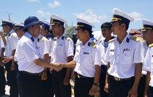 Giám sát chặt tàu Tân Hải 517