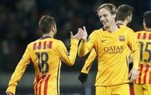 Rakitic lập cú đúp, Barcelona chuẩn bị vượt vòng bảng