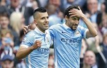 Ghi 5 bàn thắng, Aguero đưa Man City trở lại ngôi đầu bảng