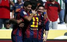 Barcelona vùi dập Cordoba 8-0, Ronaldo ghi hat-trick cho Real
