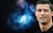 Cristiano Ronaldo xuất hiện ở dải thiên hà