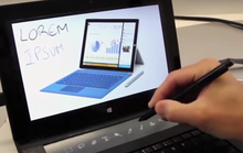Microsoft mang màn hình e-ink lên bàn phím dành cho Surface