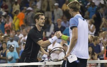 Murray thua sốc Anderson, quần vợt Anh trắng tay
