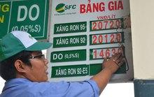 Giá xăng chỉ giảm 260 đồng/lít