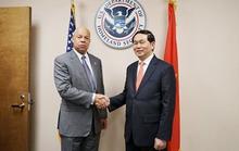 Bộ trưởng Trần Đại Quang thăm Mỹ, nâng cấp hợp tác an ninh