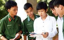 Điểm chuẩn chính thức của toàn bộ 18 trường quân đội