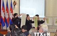 Thủ tướng Campuchia thách thức CNRP về vấn đề bản đồ biên giới