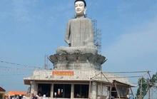 Sập tượng Phật ở Thái Bình: Xây tượng khi chưa được cấp phép
