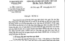 """Hà Tĩnh """"dư"""" 17 lãnh đạo cấp phó sở, ban ngành"""