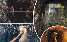 Đường hầm khủng ở biên giới liên Triều