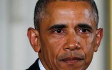 Ông Obama rơi nước mắt khi phát biểu về súng
