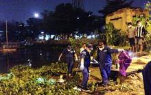 Thi thể thanh niên tự tử nổi trên sông Sài Gòn