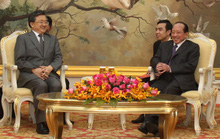 Trung Quốc viện trợ thêm 450 triệu USD cho Campuchia