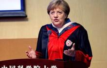 """Bà Merkel """"cứng"""" với Trung Quốc"""
