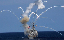 Mỹ - Nhật - Hàn tập trận tên lửa rầm rộ
